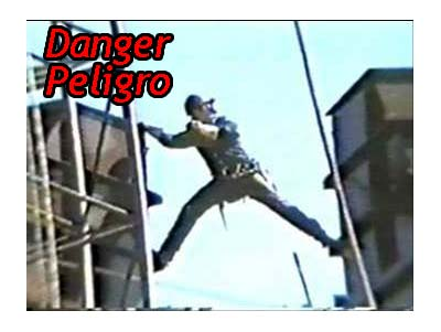 Danger - Peligro - Fall Safety